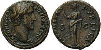 AE As  Römisches Reich, Antoninus Pius, 138-161, ss  115,00 EUR  zzgl. 6,40 EUR Versand