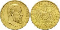 20 Mark 1895, Sachsen-Coburg-Gotha, Alfred, 1893-1900 f.st  7490,00 EUR  zzgl. 19,90 EUR Versand