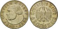 5 Reichsmark 1933 Drittes Reich, Martin Luther f.st  195,00 EUR  zzgl. 6,40 EUR Versand