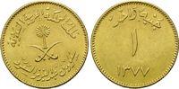 1 Guinea AH 1377=1957, Saudi Arabien, Sa'ud bin Abd al Aziz as Sa'ud, 1... 360,00 EUR  zzgl. 9,40 EUR Versand