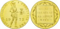 1 Dukat 1972, Niederlande, Juliana, 1948-1980, st  195,00 EUR  zzgl. 6,40 EUR Versand