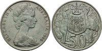 1966, Australien, Elizabeth II., seit 1952, f.vz,feine Patina  6,00 EUR  zzgl. 6,40 EUR Versand