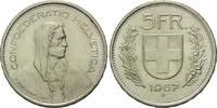 5 Franken 1967, Schweiz,  vz  10,00 EUR  zzgl. 6,40 EUR Versand