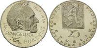 25 Korun, 1969, Tschechien, 100. Todestag von Purkyne, vz  15,00 EUR  zzgl. 6,40 EUR Versand