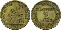 2 Francs 1923, Frankreich,  ss-vz  6,00 EUR  zzgl. 6,40 EUR Versand