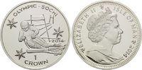 1 Crown 2014, Isle of Man, Olympische Spiele in Sotchi 2014 - Abfahrtsk... 19,95 EUR  zzgl. 6,40 EUR Versand
