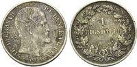 1 Rigsdaler, 16 Skilling 1855-1856, Dänemark, 2 Münzen Friedrich VII., ... 35,00 EUR  zzgl. 6,40 EUR Versand