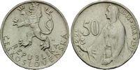50 Kronen 1947, Tschechoslowakei, Volksrepublik, 1945-1993, 3.Jahrestag... 7,00 EUR  zzgl. 6,40 EUR Versand