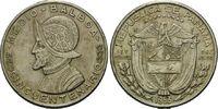 1/2 Balboa 1953, Panama, Republik, seit 1903, Hsp., ss  10,00 EUR  zzgl. 6,40 EUR Versand