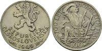100 Kronen 1949, Tschechoslowakei, Volksrepublik, 1945-1993, 700 Jahre ... 7,00 EUR  zzgl. 6,40 EUR Versand