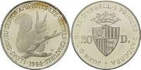 20 Diners 1984, Andorra, Eichhörnchen, min.ber.PP  19,00 EUR  zzgl. 6,40 EUR Versand