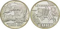 20 Euro 1997, Luxemburg, Michel Lentz, PP  21,00 EUR  zzgl. 6,40 EUR Versand