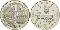 10 Euro 1996, Belgien, Johanna von Castilien, PP  34,00 EUR  zzgl. 6,40 EUR Versand