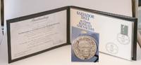 Silbermedaille 1976, Deutschland, Salvador Dali zu Ehren Konrad Adenaue... 65,00 EUR  zzgl. 6,40 EUR Versand
