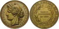 Medaille 1887, Frankreich, Anlässlich der ...
