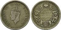 1/2 Rupie 1942, Britisch Indien, Georg VI., 1936-1952, ss  14,00 EUR kostenloser Versand