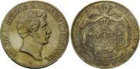 Doppeltaler 1855 B, Braunschweig-Lüneburg, Wilhelm, 1831-1884, vz/vz+  438,00 EUR kostenloser Versand