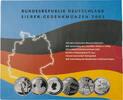 6x 10 Euro 2003, BRD, Gedenkmünzensatz, Original-Folder, PP  140,00 EUR kostenloser Versand