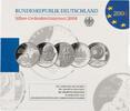 5x 10 Euro 2008, BRD, Gedenkmünzensatz, Original-Folder, PP  99,00 EUR kostenloser Versand