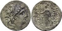 Tetradrachme 138-129 v. Chr. Syrien,  ss