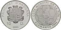 10 Diners 2204, Andorra, Fußball-WM 2006, PP  19,00 EUR kostenloser Versand