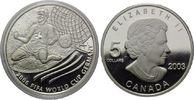 5 Dollars 2003, Kanada, Fußball-WM 2006, PP  24,00 EUR kostenloser Versand