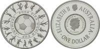 Lot von 2 Münzen 2006, Australien, Fußball-WM 2006, Commonwealth, PP  45,00 EUR kostenloser Versand
