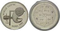 500 Rupien 1992, Nepal, Fußball-WM 1994, PP  26,00 EUR kostenloser Versand
