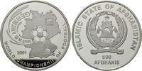 500 Afghanis 2001, Afghanistan, Fußball-WM 2006, PP  33,00 EUR kostenloser Versand