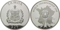 25 Tala 1998, Samoa, Fußball-WM 1998 in Frankreich, PP  190,00 EUR kostenloser Versand