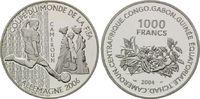1000 Francs 2004, Kamerun, Fußball-WM 2006 in Deutschland, PP  21,00 EUR kostenloser Versand