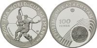 100 Tenge 2004, Kasachstan, Fußball-WM 2006 in Deutschland, PP  29,00 EUR kostenloser Versand