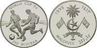 250 Rufiyaa 1993, Malediven, Fußball-WM 1994, PP  20,00 EUR kostenloser Versand