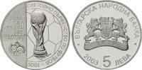 5 Leva 2003, Bulagrien, Fußball-WM 2006 in Deutschland, PP  35,00 EUR kostenloser Versand