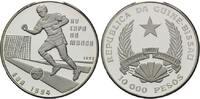 10000 Pesos 1992, Guinea-Bissau, Fußball-WM 1994, PP  32,50 EUR kostenloser Versand