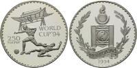 250 Tugrik 1994, Mongolei, Fußball-WM 1994, PP  26,00 EUR kostenloser Versand