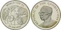 25 Dalasis 1994, Gambia, Fußball-WM 1994, PP  26,50 EUR kostenloser Versand