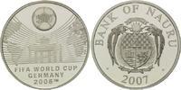 10 Dollars 2007, Nauru, Fußball-WM 2006 in Deutschland, PP  32,50 EUR kostenloser Versand