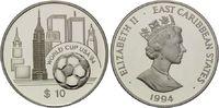 10 Dollars 1994, Ostkaribische Staaten, Fußball-WM 1994, PP  20,00 EUR kostenloser Versand