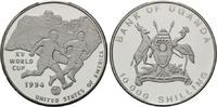10000 Schilling 1994, Uganda, Fußball-WM 1994, PP  22,00 EUR kostenloser Versand