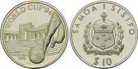 10 Tala 1992, Samoa, Fußball-WM 1994, PP, leicht patiniert  20,00 EUR kostenloser Versand