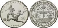 50 Dollars 1994, Marshallinseln, Fußball-WM 1994, PP  25,00 EUR kostenloser Versand