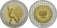 10 Zlotych 2006, Polen, Fußball-WM 2006 in Deutschland, PP  18,00 EUR kostenloser Versand