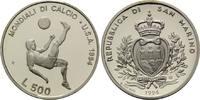 500 Lire 1994, San Marino, Fußball-WM 1994, PP  18,00 EUR kostenloser Versand