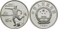 10 Yuan 1994, China, Fußball-WM 1994 in den USA, PP  32,00 EUR kostenloser Versand