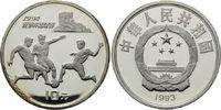 10 Yuan 1993, China, Fußball-WM 1994 in den USA, PP, fleckig  24,00 EUR kostenloser Versand