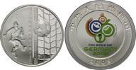 10 Yuan 2006, China, Fußball-WM 2006 in Deutschland, PP  38,00 EUR kostenloser Versand