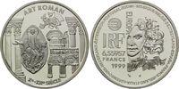 6,55957 Francs / 1 Euro 1999, Frankreich, Kunst der Romanik, PP  19,00 EUR kostenloser Versand