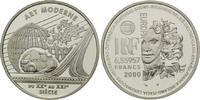 6,55957 Francs / 1 Euro 2000, Frankreich, Kunst der Moderne, PP  29,00 EUR kostenloser Versand