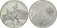 10 Zlotych 2004, Polen, Olympia 2004 in Athen, PP  19,00 EUR kostenloser Versand